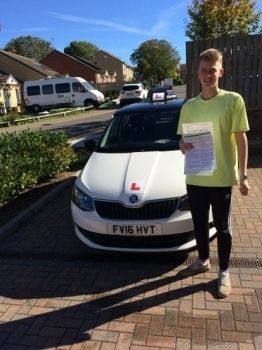 WELL DONE MATE ON A 1ST TIME PASS